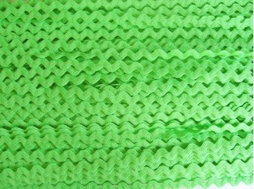 5d Zigzagband Lime 10mm. 803