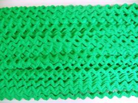 5e Zigzagband Groen 10mm. 804