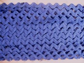 Zigzagband kobalt 10mm.