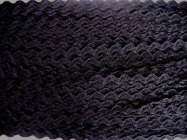 5l Zigzagband Zwart 10mm. 811