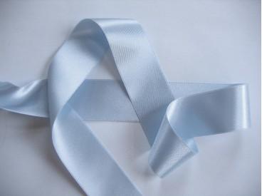 Satijnlint Lichtblauw 40mm