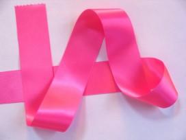 Satijnlint Pink 40 mm breed
