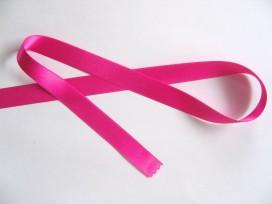 Pinkkleurig satijnlint dubbelzijdig 1,5 cm breed