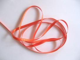 Satijnlint Oranje 6 mm breed