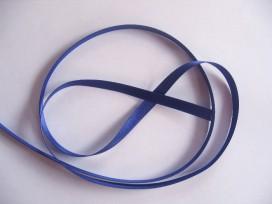 Satijnlint Kobalt 6 mm breed