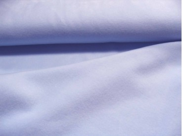 Lichtblauwe anti-pilling fleece, 100% polyester 1.55 mtr. br.