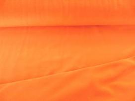 Oranje nicky velours.  80%kat./20%pe  1.50 mtr.br.