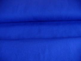 Kobalt kleurige canvas.  100% katoen  1.45 mtr.br.  240 gr/m2.
