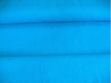 Aqua kleurige canvas 100% katoen 1.45 mtr.br.