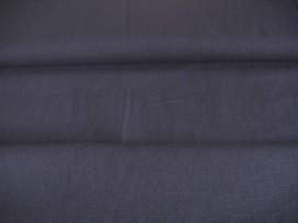 Diep donkerblauwe canvas.  100% katoen  1.45 mtr.br.  240 gr/m2.