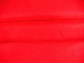 Helderrode canvas.  100% katoen  1.45 mtr.br.  240 gr/m2.