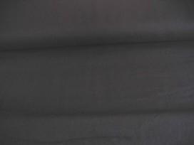 Zwarte canvas. 100% katoen.  100% katoen  1.45 mtr.br.  240 gr/m2.