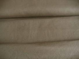 Taupe kleurige canvas  100% katoen  1.45 mtr.br.  240 gr/m2.
