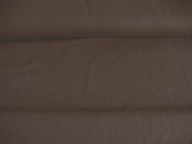 Donkerbruine canvas.  100% katoen  1.45 mtr.br.  240 gr/m2.