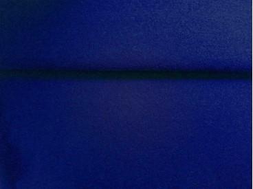 Mooie zware kwaliteit voorgekookte kobalt kleurige boucle wolvilt.  Zeer geschikt voor jasjes en rafelt niet!  100% wol  1.45 mt