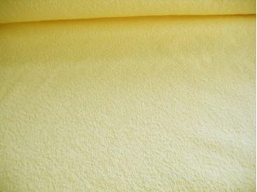 Badstof per meter € 9,95. Mooie kwaliteit gele dubbelgeluste badstof. 100% katoen 1.50 mtr.br. Iets geler dan op de foto