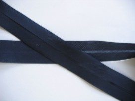 Biaisband Donkerblauw 3 cm breed