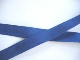 Keperband 2cm. kobalt