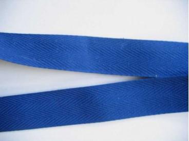 Keperband 3 cm. kobalt