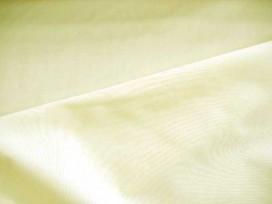Poplin polyester-katoen Creme