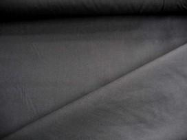Poplin polyester-katoen Zwart