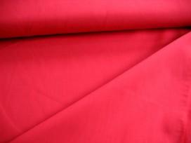 Poplin polyester-katoen Rood