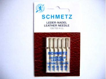 Schmetz naaimachine naalden voor het stikken van leer. Naalddikte 80-100