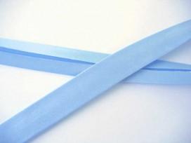 Satijnbiaisband Lichtblauw 2cm. 249