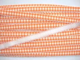 5c Boerenbont elastisch band Oranje 4392