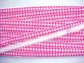 Boerenbont elastisch band Pink 4394