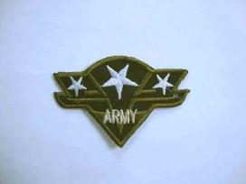 Leger applicatie Army met 3 witte sterren leger3