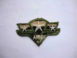 8d Leger applicatie Army met 3 cremekleurige sterren leger4