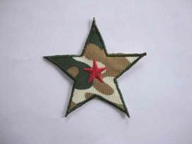 8e Leger applicatie Ster met rode ster leger5