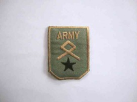 Leger applicatie Army met zwarte ster leger9