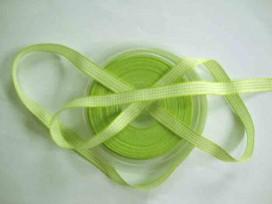 Boerenbont lint lime/wit geruit 10mm