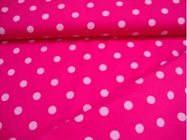 Grote stip katoen Pink/roze 8302