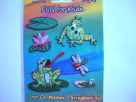 5b Iron-on Fun for kids Kikkers
