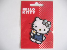 Hello Kitty met bloem en strik