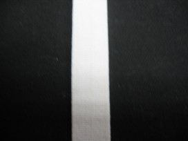 Wit pyjama elastiek 12 mm breed