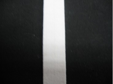 Pyjama elastiek 12 mm. wit