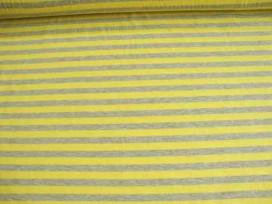 7fu Tricot streepjes Grijs/geel 101416-23PL