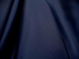 Mooie kwaliteit donkerblauwe antistatische acetaat voering  100 % Acetaat  80gr/m2  1.40 mtr.br.