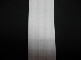 Wit pyjama elastiek 30 mm breed