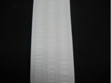 Elastiek 35 mm. pyjama wit