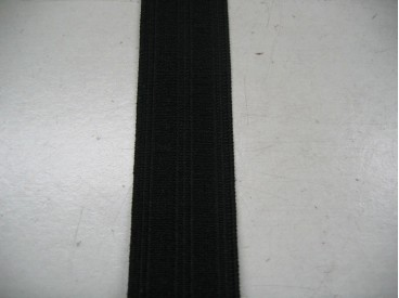 Pyjama elastiek 25 mm. zwart