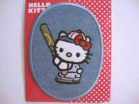 Hello Kitty ovaal jeans Met honkbal knuppel
