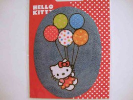5j Hello Kitty ovaal jeans Met ballonnen kitty109