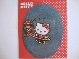 5l Hello Kitty ovaal jeans Met hoepel en muziek kitty111
