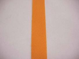 Keperband Oranje  3cm breed