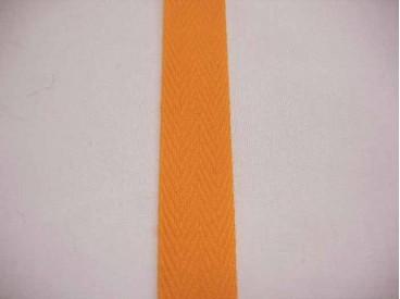 Keperband 3cm. Oranje 4031